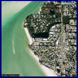 Siesta Key Aerial view